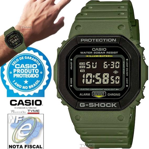 Relógio Casio G-shock Masculino Dw-5610su-3dr C/ Nota Fiscal
