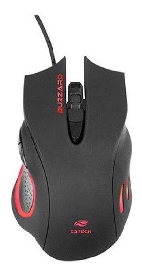 Mouse Gamer Buzzard C3tech Mg-110bk Usb Barato