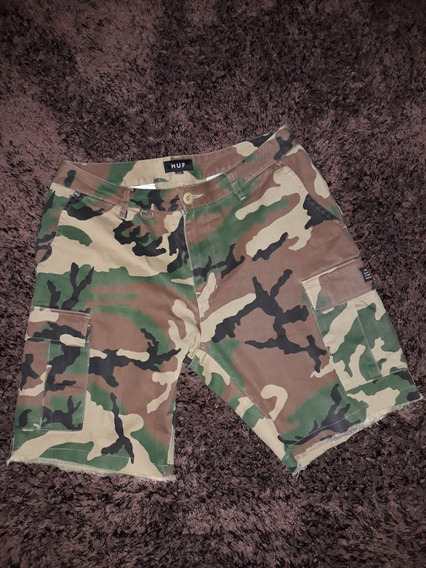Bermuda Short Slim Fit Marca Huf Talla 32