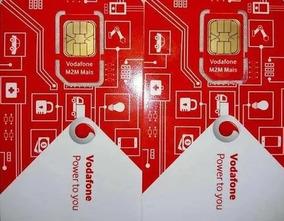 20 Chip M2m Telemetria Ou Rastreador (serviço Garantido)