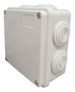 Caja De Derivación Pvc Ip55 Exterior 7 Entradas 100x100x50