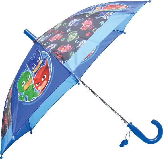 Paraguas Pj Masks Automatico De Tela Orig Footy Mundo Manias