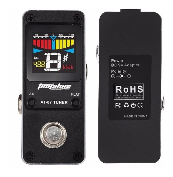 Pedal Afinador Aroma Tomsline At-07 Chromatic Tuner At07 X