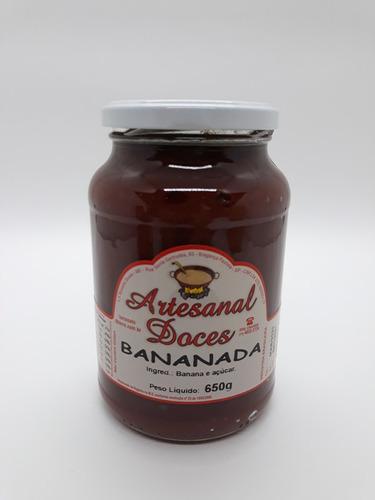 Imagem 1 de 10 de Bananada Cremosa Caseira 650g