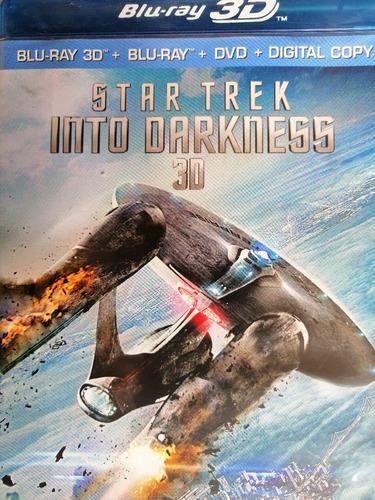 Star Trek Into Darkness Blu Ray 3d Importado