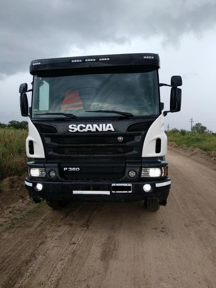 Scania P360 8x4