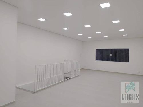 Imagem 1 de 9 de Sala Para Alugar, 60 M² Por R$ 1.600,00/mês - Vila Nogueira - Diadema/sp - Sa0020