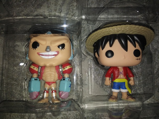 Funko Pop Franky & Monkey D. Luffy