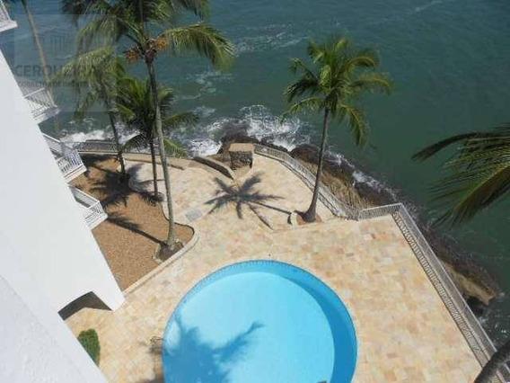 Apartamento Residencial Para Locação, Condomínio Península, Guarujá. - Ap0036