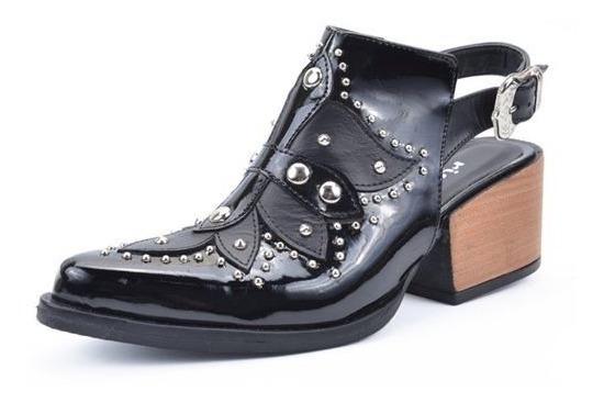 Zuecos Mujer Con Taco Riot Art 1194 Zona Zapatos
