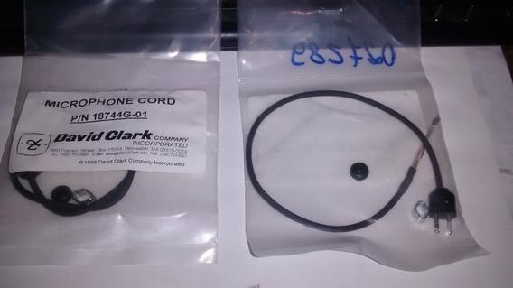 David Clark 18744g-01 Microphone Cord (1705)