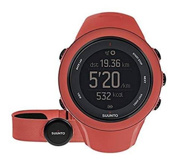 Reloj Deportivo Sunnto Ambit3 Sport + Banda Bluetooth. Coral