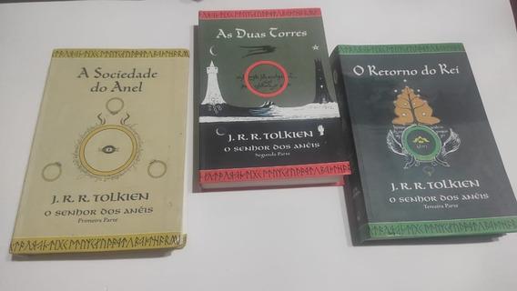 Livros O Senhor Dos Anéis 3 Volumes Edição Especial