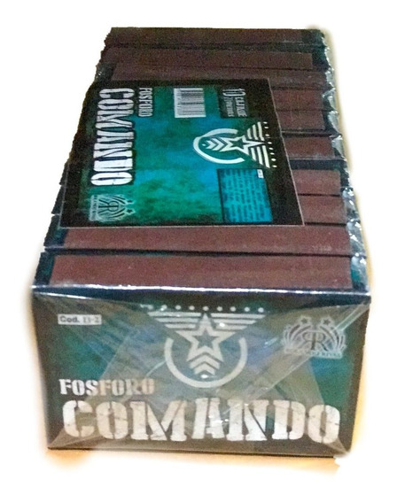 Fosforo Comando 1caja -apto Renar- Pirotecnia La Golosineria