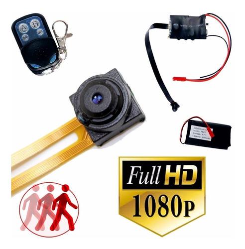 Mini Camara Espia Oculta Seguridad Dvr Full Hd Audio Video