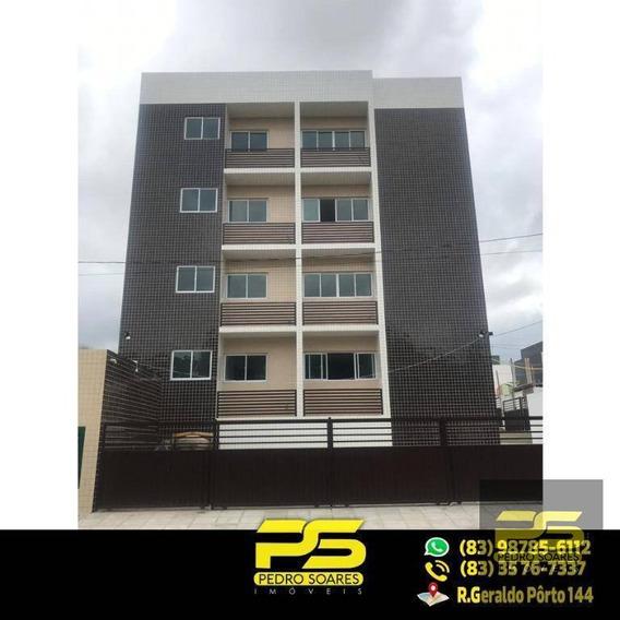 Apartamento Com 2 Dormitórios À Venda, 53 M² Por R$ 120.000 - Paratibe - João Pessoa/pb - Ap1724