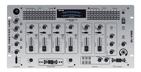 Consola Mixer 4 Canales + Dj Effect
