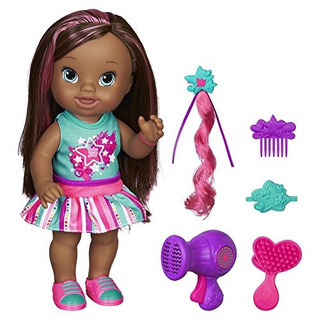 Baby Alive Play .n Style Christina Doll (afroamericana)
