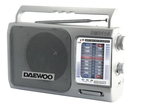 Radio Portatil Analogica Am/fm Bluetooth Daewoo Dmr114