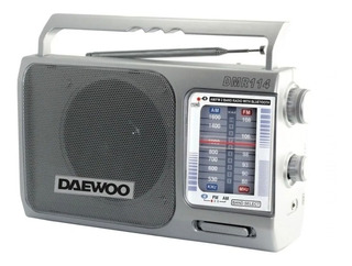 Radio Portatil Analogica Am/fm Bluetooth Daewoo Dmr114