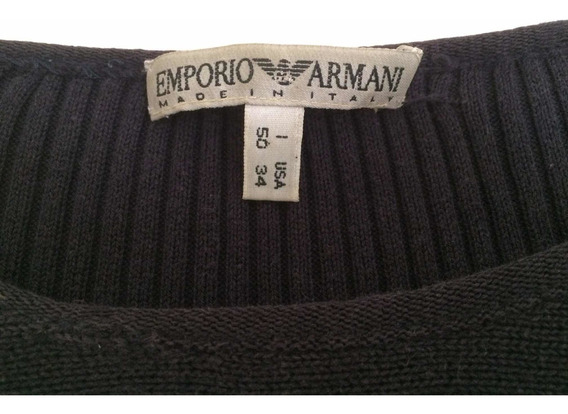 Malha Emporio Armani Italiana Importado 100% Original