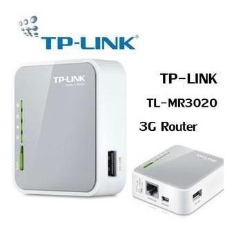 Router Inalámbrico N Portátil 3g-4g - Modelo - Tl - Mr3020