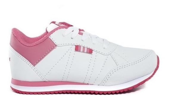 Zapatillas Topper Lifestyle Niña Theo Cs Blanco-rosa Ras