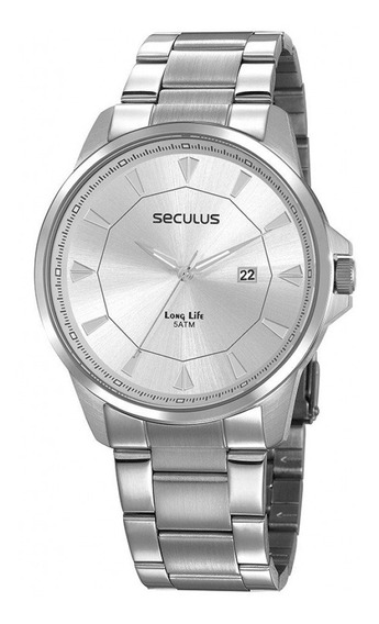 Relógio Masculino Seculus Prata 20805g0svna3