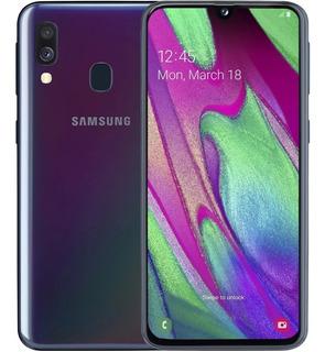 Celular Galaxy A40 64gb Dual Sim 4gb Ram Selfie Camara 25mpx