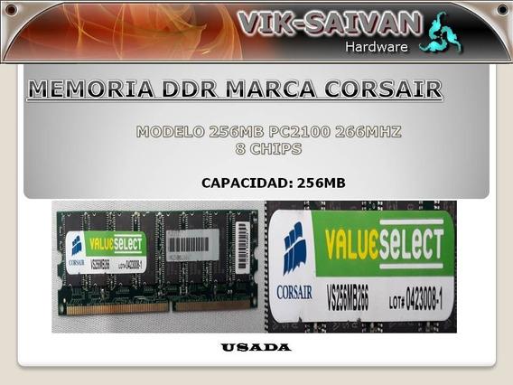 Memoria Ddr Corsair 256mb Pc-2100 266mhz 8 Chips 44