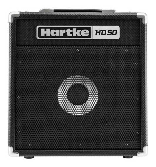 Amplificador Hartke HD Series HD50 50W negro 100V/240V