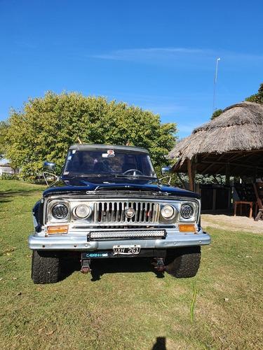 Jeep Gladiator T80 4x4 Año 69 No Permuto Precio Charlable
