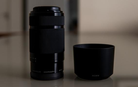 Lente Sony E-mount 55-210mm F4.5-6.3 Oss