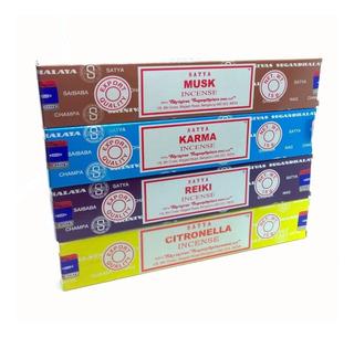 Sahumerios Satya Nag Champa - 12 Cajitas - Aromas A Elección