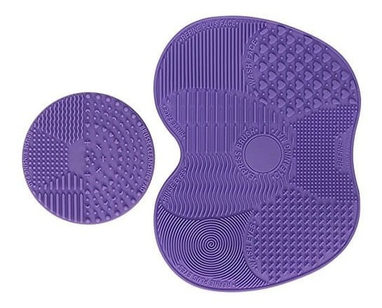 Limpiador De Brochas Pinceles 2 En 1 Limpia Brochas Texturas