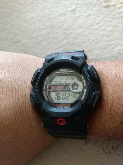 Relógio Casio G-shock G-9100-1dr Gulfman