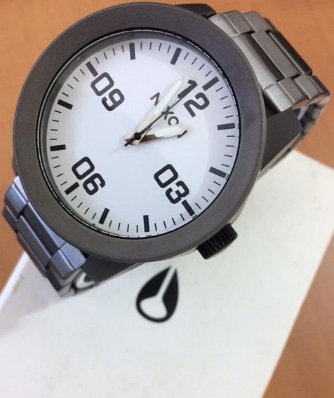 Relógio Nixon Corporal Ss Novo Original