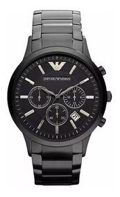 Relógio Pa9898 Emporio Armani Ar2453 Preto Original + Caixa