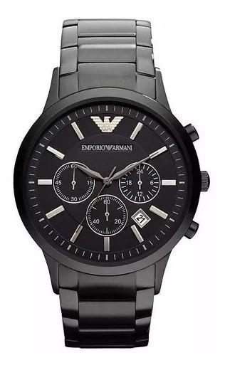 Relógio Tea9898 Emporio Armani Ar2453 Preto Original + Caixa