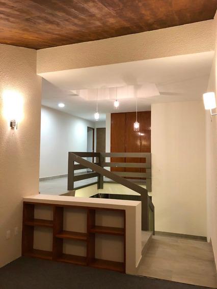 Prados De Coyoacán Elegante Y Espaciosa Casa Frente A Parque