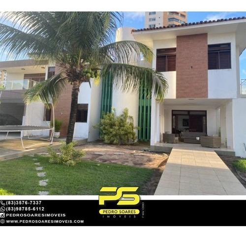 Imagem 1 de 28 de Casa Com 5 Dormitórios Para Alugar, 1.120 M² Por R$ 16.000/mês - Estados - João Pessoa/pb - Ca1045