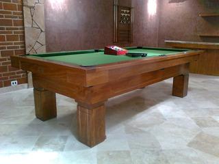Mesas De Billar De Pool O Carambola Colores Personalizados