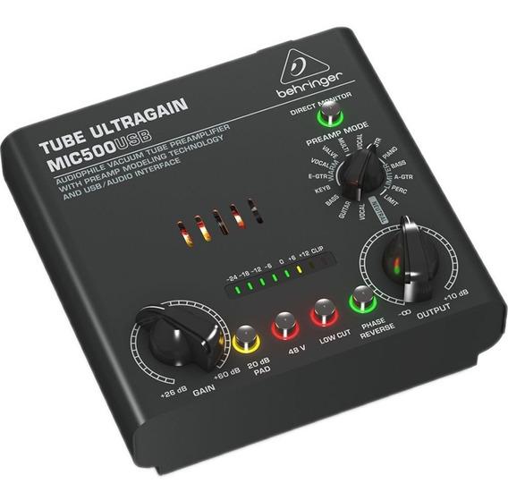 Preamplificador Mic500usb - Behringer