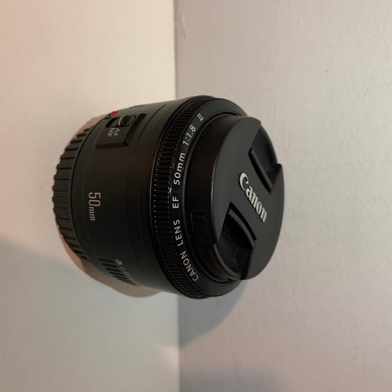 Lente Canon 50mm Original F1:1.8 Mf/af