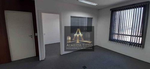 Excelente Sala Comercial Para Locação No Cea 1  Centro Empresarial Araguaia 1 - Alphaville - Confira! - Sa0559