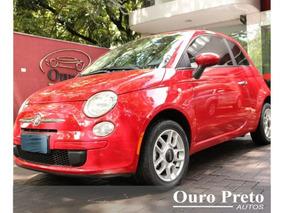 Fiat 500 Cult 1.4 2012 Vermelho Flex