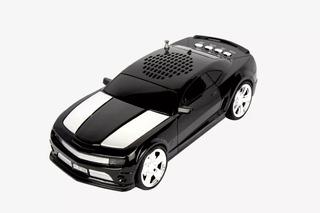 Bocina Tipo Camaro Colores Led Bluetooth Usb Fm Mp3 Auto
