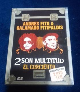 Fito Y Fitipaldis Y A. Calamaro - Dos Son Multitud 2dvd+cd
