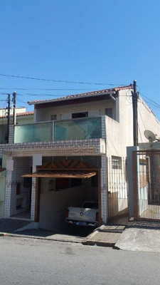 Sobrado Residencial À Venda, Vila Camilópolis, Santo André. - So1096