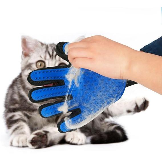 Guante Masajeador Para Mascotas Removedor Pelos True Touch